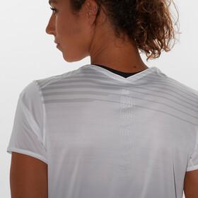 Salomon Sense Camiseta Mujer, white/lunar rock